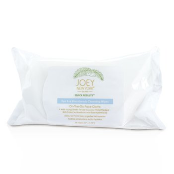 Joey New York Quick Results Bye Bye Blackheads Cleansing Wipes