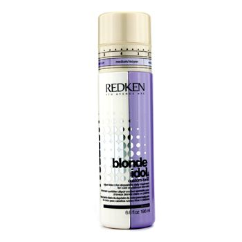 Redken Blonde Idol Custom-Tone Adjustable Color-Depositing Daily Treatment (For Cool or Platinum Blondes)