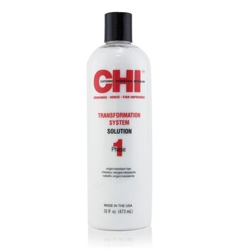 CHI Transformation System Phase 1 - Solution Formula A (For Resistant/Virgin Hair)