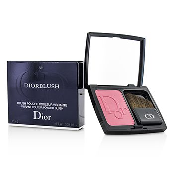 Christian Dior DiorBlush Vibrant Colour Powder Blush - # 881 Rose Corolle