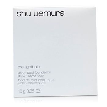 Shu Uemura The Lightbulb Oleo pact Foundation (Case + Refill) - # 754 Medium Beige