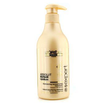 L'Oreal Professionnel Expert Serie - Absolut Repair Lipidium Instant Resurfacing Shampoo (For Very Damaged H