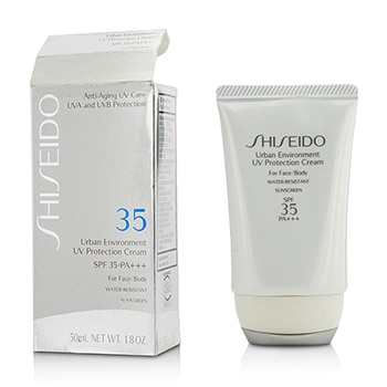 Shiseido Urban Environment UV Protection Cream SPF 35 PA+++ For Face & Body (Box Slightly Damaged)