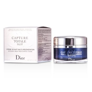 Christian Dior Capture Totale Nuit Intensive Night Restorative Creme (Rechargeable)