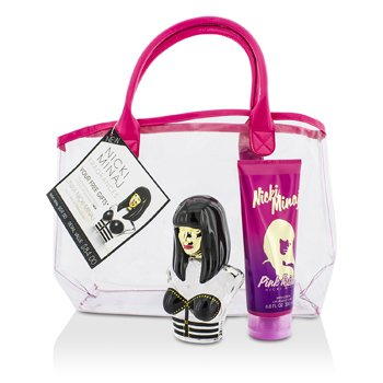 Nicki Minaj Onika Coffret: Eau De Parfum Spray 100ml/3.4oz + Pink Friday Body Lotion 200ml/6.8oz + Bag