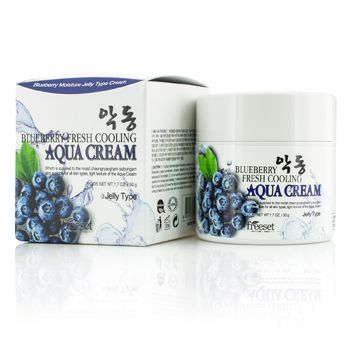 Freeset Aqua Cream (Moisture Jelly Type) - Blueberry Fresh Cooling