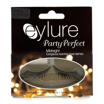 Eylure Party Perfect False Lashes - Midnight (Adhesive Included)