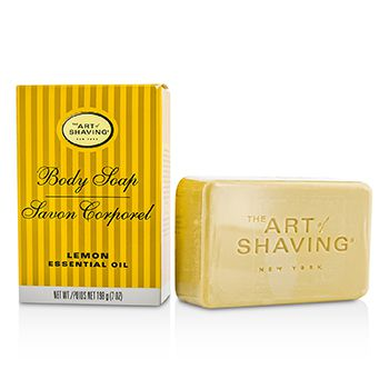 The Art Of Shaving Body Soap - Lemon Essential Oil