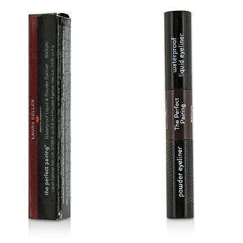 Laura Geller The Perfect Pairing Waterproof Liquid & Powder Eyeliner - # Brown