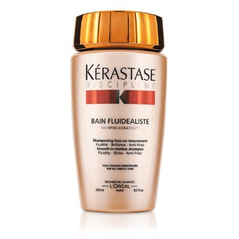 Kerastase Discipline Bain Fluidealiste Smooth-In-Motion Shampoo (For All Unruly Hair)