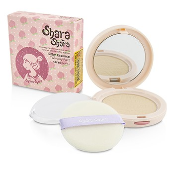 Shara Shara Silky Essence Two Way Pact SPF30 - #01 Light Beige