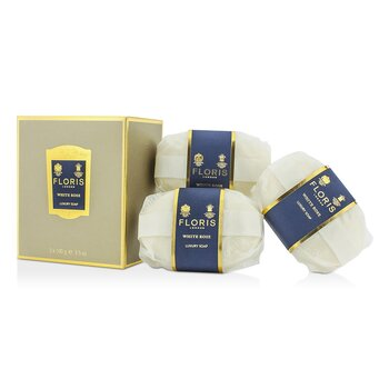 Floris White Rose Luxury Soap