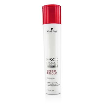 Schwarzkopf BC Repair Rescue Shampoo - For Damaged Hair (New Packaging)