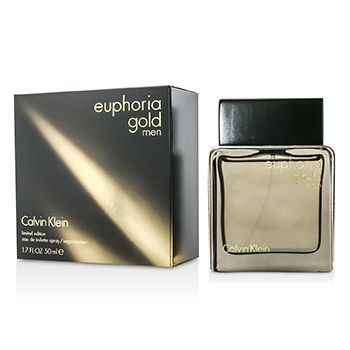 Calvin Klein Euphoria Gold Men Eau De Toilette Spray (Limited Edition)