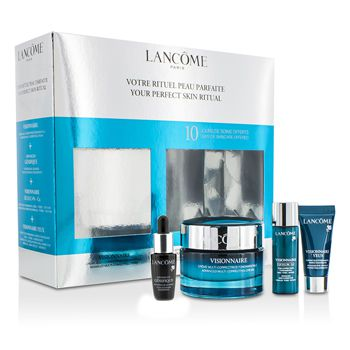 Lancome Your Perfect Skin Ritual: Visionnaire Cream 50ml + Concentrate 7ml + Skin Corrector 7ml + Eye Corrector 5ml