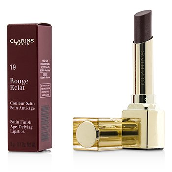 Clarins Rouge Eclat Satin Finish Age Defying Lipstick - # 19 Chestnut Brown