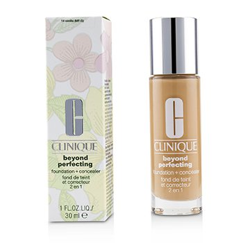 Clinique Beyond Perfecting Foundation & Concealer - # 14 Vanilla (MF-G)