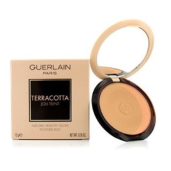 Guerlain Terracotta Joli Teint Natural Healthy Glow Powder Duo - # 01 Clair/Light Brunettes