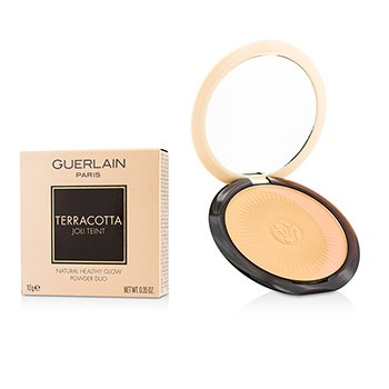 Guerlain Terracotta Joli Teint Natural Healthy Glow Powder Duo - # 03 Naturel/Natural Brunettes