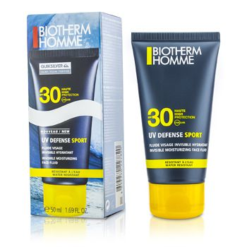 Biotherm UV Defense Sport Invisible Moisturizing Face Fluid SPF30