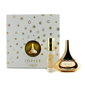 Guerlain Idylle Coffret: Eau De Pafrum Spray 50ml/1.7oz + Eau De Pafrum Purse Spray 15ml/0.5oz