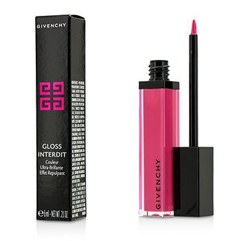 Givenchy Gloss Interdit Ultra Shiny Color Plumping Effect - # 39 Fancy Pink