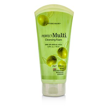 Etude House Perfect Multi Cleansing Foam 3 in 1 - Olive