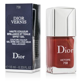 Christian Dior Dior Vernis Couture Colour Gel Shine & Long Wear Nail Lacquer - # 758 Victoire