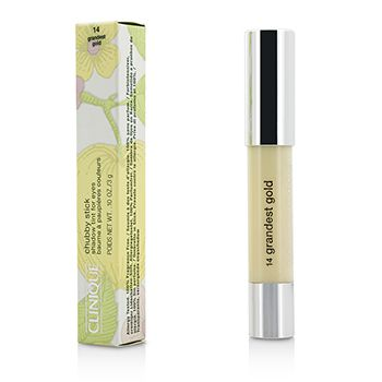 Clinique Chubby Stick Shadow Tint for Eyes - # 14 Grandest Gold