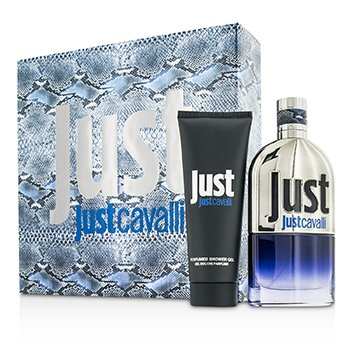Roberto Cavalli Just Cavalli Him (New Packaging) Coffret: Eau De Toilette Spray 90ml/3oz + Shower Gel 75ml/2.5oz