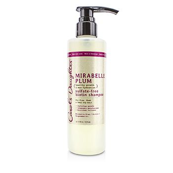 Carol's Daughter Mirabelle Plum Healthy Growth & Max Hydration Sulfate-Free Biotin Shampoo (For Fine, Weak & Very Dry Hair)