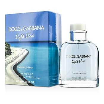 Dolce & Gabbana Light Blue Swimming In Lipari Eau De Toilette Spray (Limited Edition)