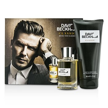 David Beckham Classic Coffret: After Shave Lotion 60ml/2oz + Hair & Body Wash 200ml/6.7oz