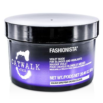 Tigi Catwalk Fashionista Violet Mask (For Blondes and Highlights)