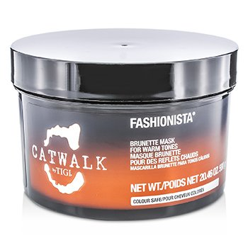 Tigi Catwalk Fashionista Brunette Mask (For Warm Tones)