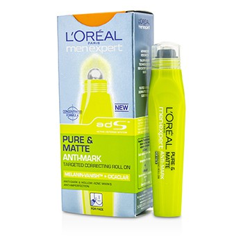 L'Oreal Men Expert Pure & Matte Anti Mark Targeted Correcting Roll On (MFG Date: Apr 2011)