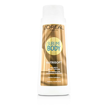 L'Oreal Sublime Body Nutrisoft Velvety Body Lotion - For Normal To Dry Skin