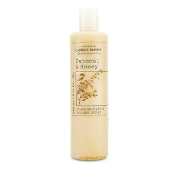 Caswell Massey Oatmeal & Honey Foaming Bath & Shower Cream
