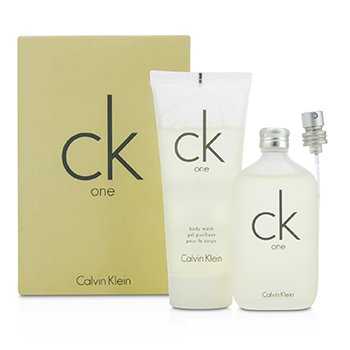 Calvin Klein CK One Coffret: Eau De Toilette Spray 50ml/1.7oz + Body Wash 100ml/3.4oz