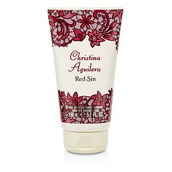 Christina Aguilera Red Sin Shower Gel
