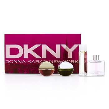 DKNY House Of DKNY Miniature Coffret: City, Be Delicious, Energizing, Golden Delicious