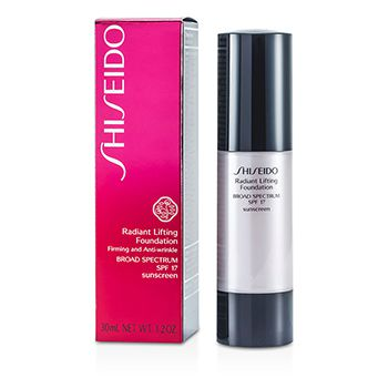 Shiseido Radiant Lifting Foundation SPF 17 - # D20 Rich Brown
