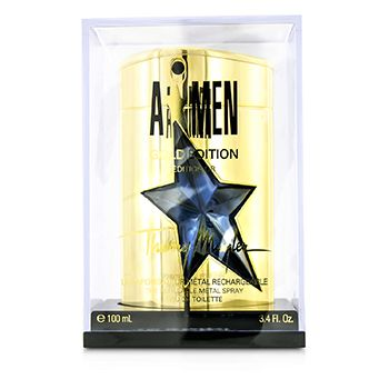 Thierry Mugler A*Men Gold Edition Eau De Toilette Refillable Metal Spray