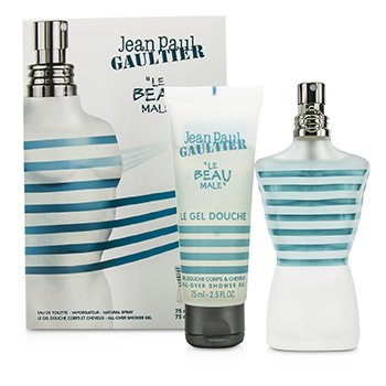 Jean Paul Gaultier Le Beau Male Coffret: Eau De Toilette Spray 75ml/2.5oz + Shower Gel 75ml/2.5oz