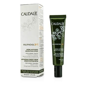 Caudalie Polyphenol C15 Anti-Wrinkle Protect Cream Broad Spectrum SPF 20 (Normal to Dry Skin)