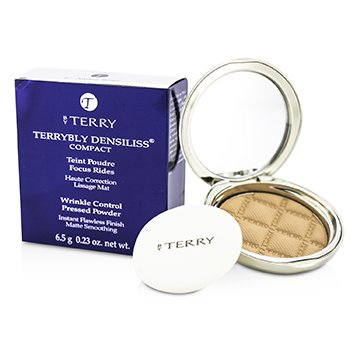 By Terry Terrybly Densiliss Compact (Wrinkle Control Pressed Powder) - # 6 Amber Beige