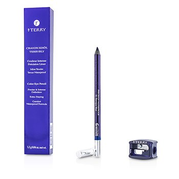 By Terry Crayon Khol Terrybly Color Eye Pencil (Waterproof Formula) - # 12 Baroque Blue