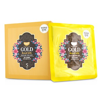 Koelf Hydro Gel Mask Pack - Gold (Royal Jelly)