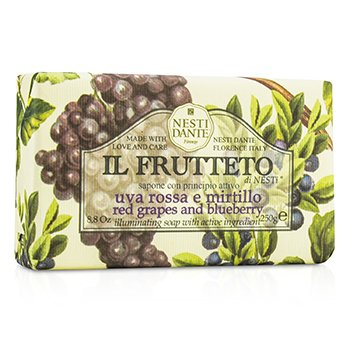 Nesti Dante Il Frutteto Illuminating Soap - Red Grapes & Blueberry
