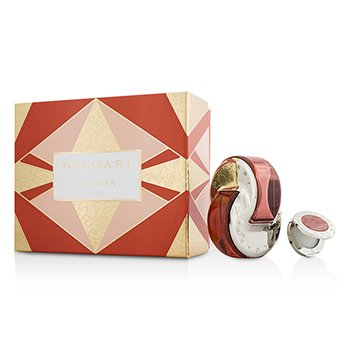 Bvlgari Omnia Coral Coffret: Eau De Toilette Spray 65ml/2.2oz + Solid Perfume 1g/0.03oz